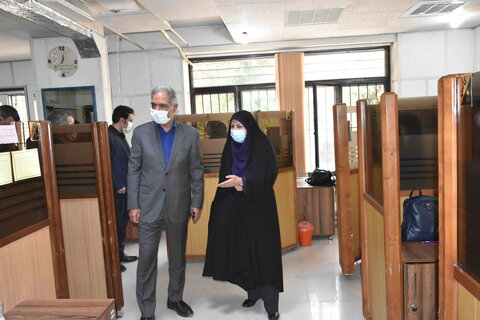 برنامه بازدید معاون امور توسعه پیشگیری کشور در مشهد