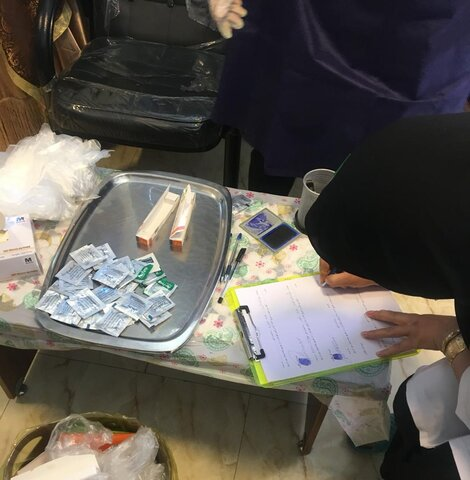تزریق واکسن آنفولانزا- بهزیستی شهرستان ملارد