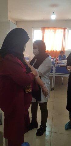 تزریق واکسن آنفولانزا- بهزیستی شهرستان پاکدشت