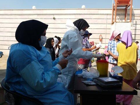 گزارش تصویری| واکسیناسیون مددجویان مقیم در مراکز نگهداری بهزیستی تهران در مقابل آنفولانزا