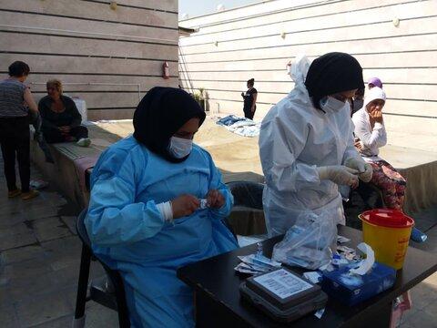 تزریق واکسن آنفولانزا- بهزیستی شهرستان پیشوا