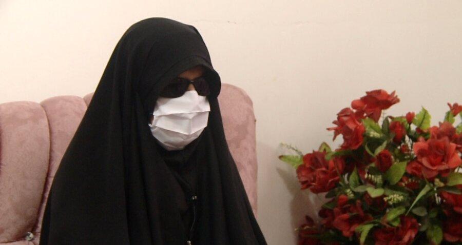 فیلم| گزارش صدا و سیمای مرکز ایلام از خواهران موفق نابینا