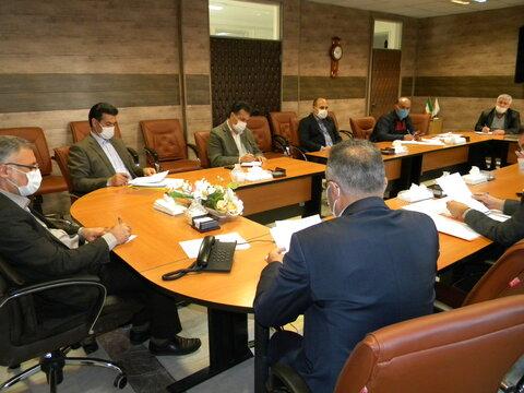 برگزاری جلسه کارگروه توسعه مدیریت بهزیستی استان