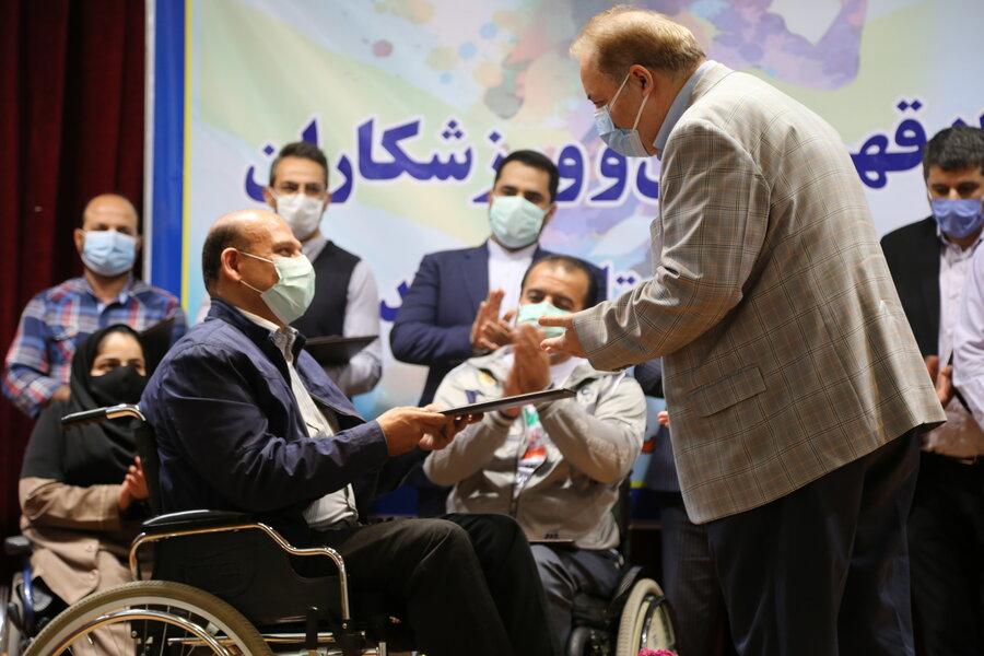 بنیامین محسنی بعنوان مشاور مدیر کل بهزیستی مازندران درامور معلولین منصوب شد