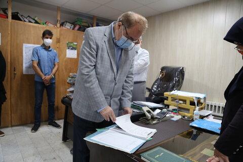 جویبار  گزارش تصویری   بازدید مدیر کل بهزیستی مازندران از اداره بهزیستی و اورژانس اجتماعی شهرستان جویبار