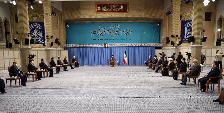 رهنمودهای رهبر معظم انقلاب اسلامی در دیدار با اعضای ستاد ملی مقابله با کرونا
