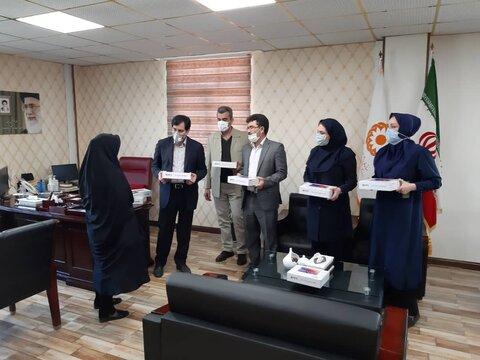 گزارش تصویری | اهداء تبلت به دانش آموزان ایتام  تحت پوشش بهزیستی البرز