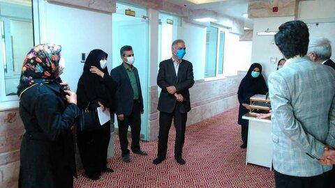 نیشابور   بازدید مدیر کل بهزیستی خراسان رضوی از سه مرکز مددجویی در نیشابور