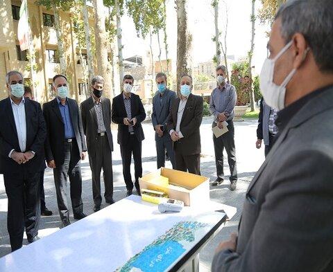 گزارش تصویری /مراسم نمادین پویش پازل همدلی با حضور مسئولین استانی در سنندج
