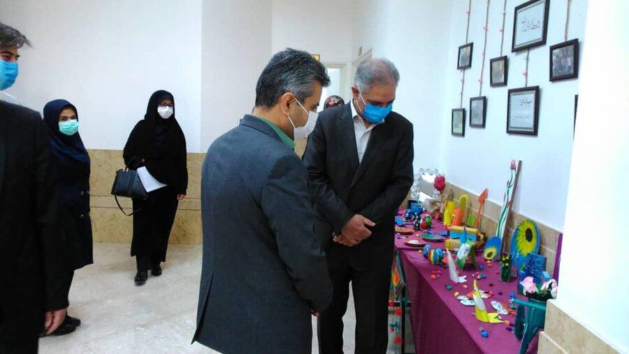 نیشابور | بازدید مدیر کل بهزیستی خراسان رضوی از سه مرکز مددجویی در نیشابور