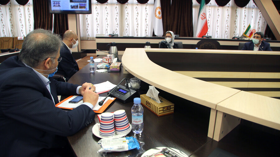 دیدار رئیس سازمان بهزیستی کشور و نماینده صندوق جمعیت ملل متحد در ایران