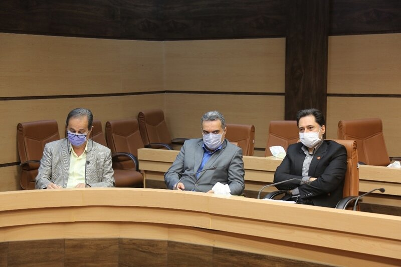 """برگزاری نشست مشورتی """"  استقرار  جامعه پاسخگو در برابر سلامت سالمندان استان """""""