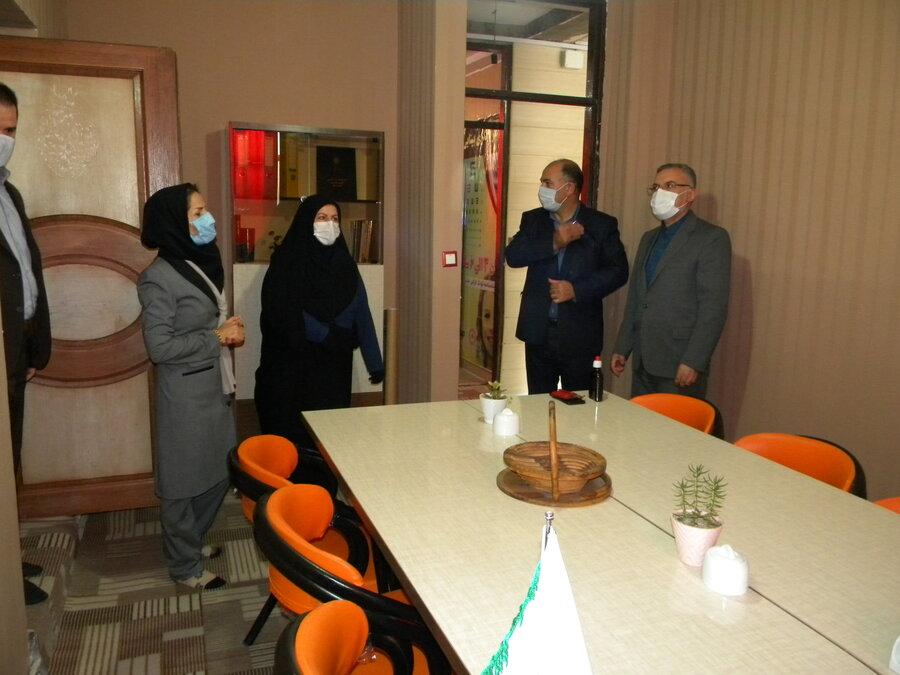 اردبیل - بازدیداز موسسه پیشگیری از آسیب های اجتماعی ( پرتو )