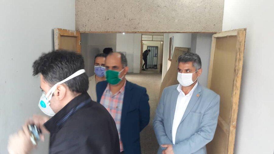 بازدید مدیرکل بهزیستی گیلان از اولین مرکزجامع درمان و بازتوانی اعتیاد استان گیلان