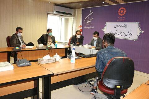 گزارش تصویری|  ملاقات مردمی مدیر کل بهزیستی استان