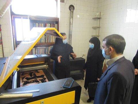 گزارش تصویری/ بازدید مدیرکل بهزیستی آذربایجان شرقی از مرکز تولیدی و حمایتی بستان آباد