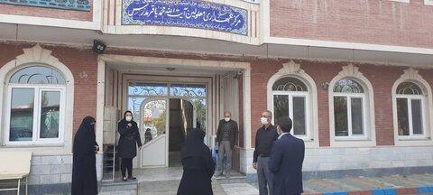 گزارش تصویری/ بازدید مدیرکل بهزیستی آذربایجان شرقی از مرکز نگهداری معلولان
