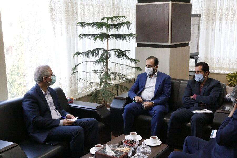نشست نماینده مردم شریف غرب استان با مدیرکل بهزیستی گلستان
