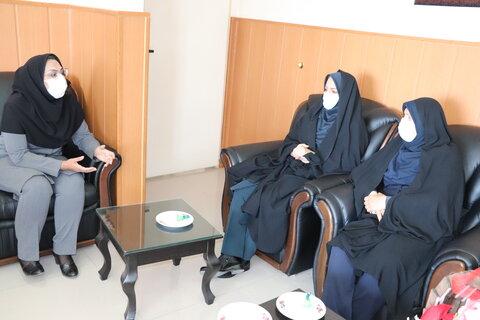 گزارش تصویری/ دیدار مسئولین دستگاههای اجرایی با مدیرکل بهزیستی استان