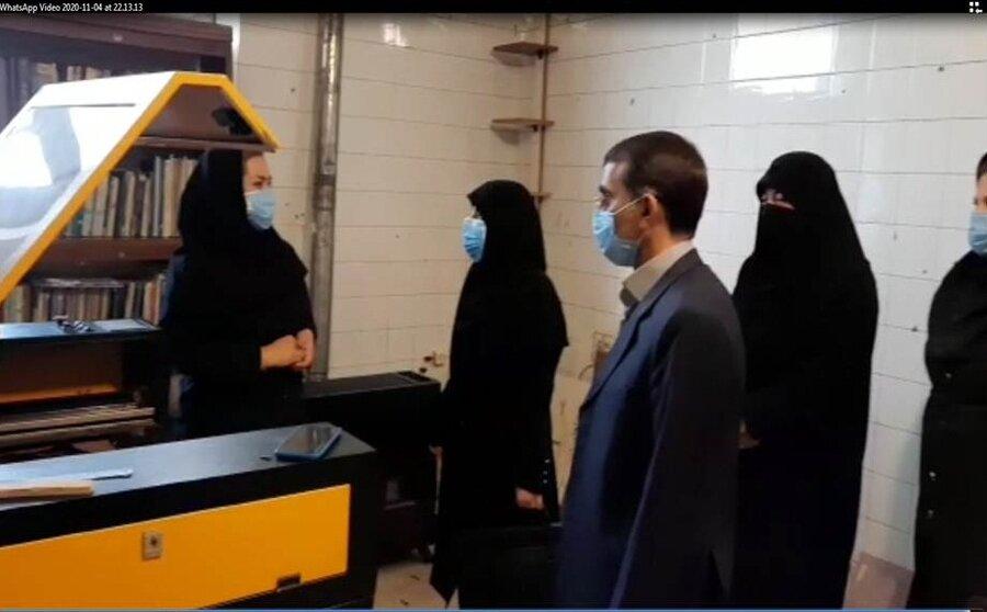 فیلم| بازدید مدیرکل بهزیستی آذربایجان شرقی از مرکز تولیدی و حمایتی بستان آباد