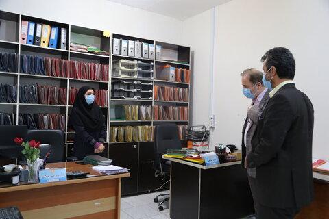 گزارش تصویری   بهشهر   بازدید مدیر کل بهزیستی استان مازندران از اداره بهزیستی و اورژانس اجتماعی شهرستان بهشهر