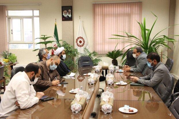 دیدار نماینده مردم خمینیشهر در مجلس شورای اسلامی با سرپرست بهزیستی استان