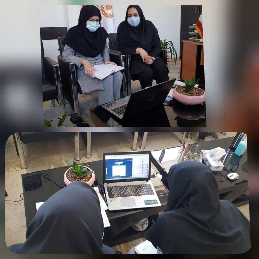 جلسه آموزش آنلاین در خصوص آشنایی مراکز مشاوره  غیر دولتی برگزار شد