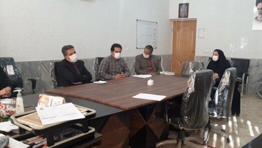 جلسه کمیته پدافند بهزیستی شهرستان کاشان برگزار شد