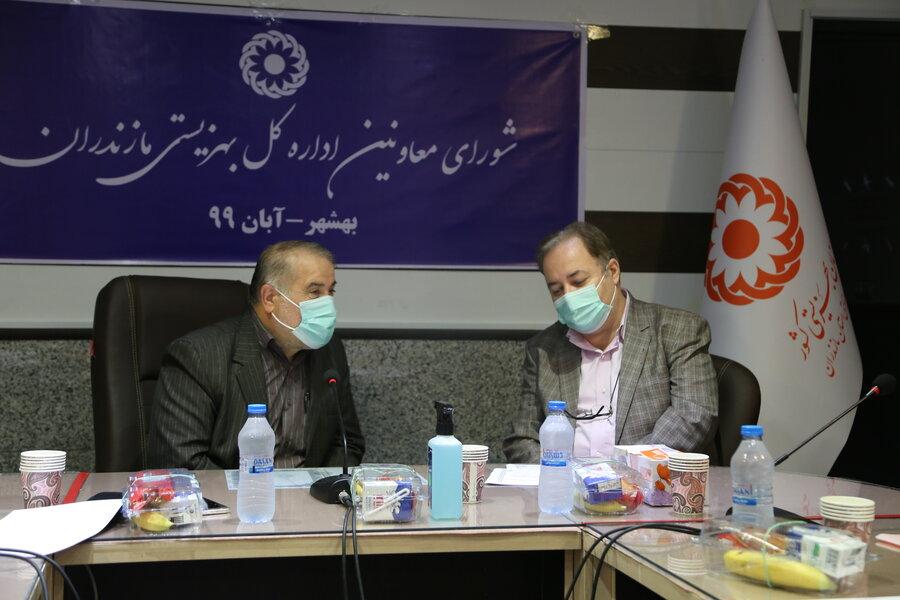 بهشهر   جلسه شورای معاونین اداره کل بهزیستی مازندران در بهشهر برگزار شد