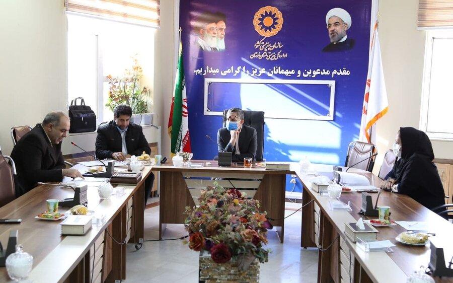 عقد تفاهم نامه همکاری مشترک اداره کل بهزیستی با اورژانس استان