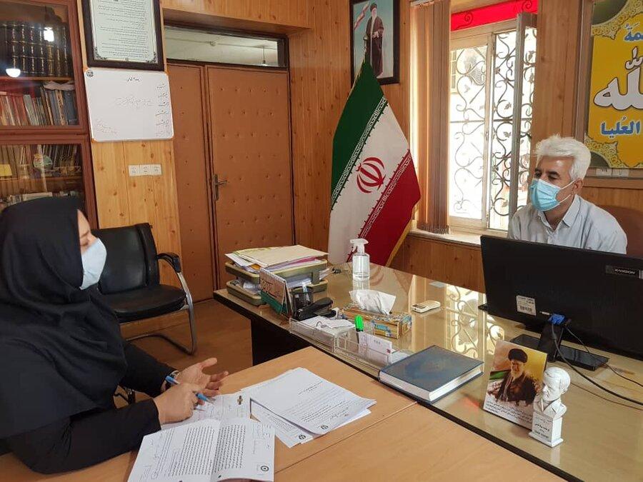 جلسه هماهنگی با دبیر شورای مبارزه با مواد مخدراستان برگزار شد