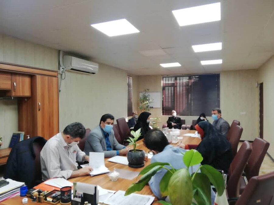شهریار  تشکیل کارگروه شورای سیاستگذاری همیاربهزیستی و فعالیت های جهادی
