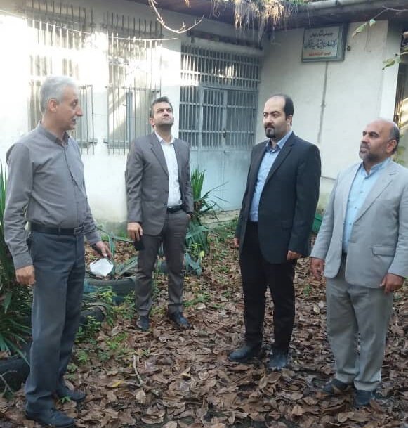 بازدید از املاک مازاد جهت فروش ومولدسازی واقع در آستانه اشرفیه