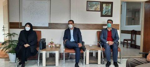 سفر مدیرکل بهزیستی آذربایجان شرقی به شهرستان چاراویماق