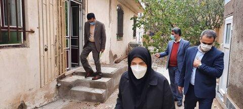 گزارش تصویری/ بازدید مدیرکل بهزیستی آذربایجان شرقی از دو مرکز خدماتی در شهرستان چاراویماق
