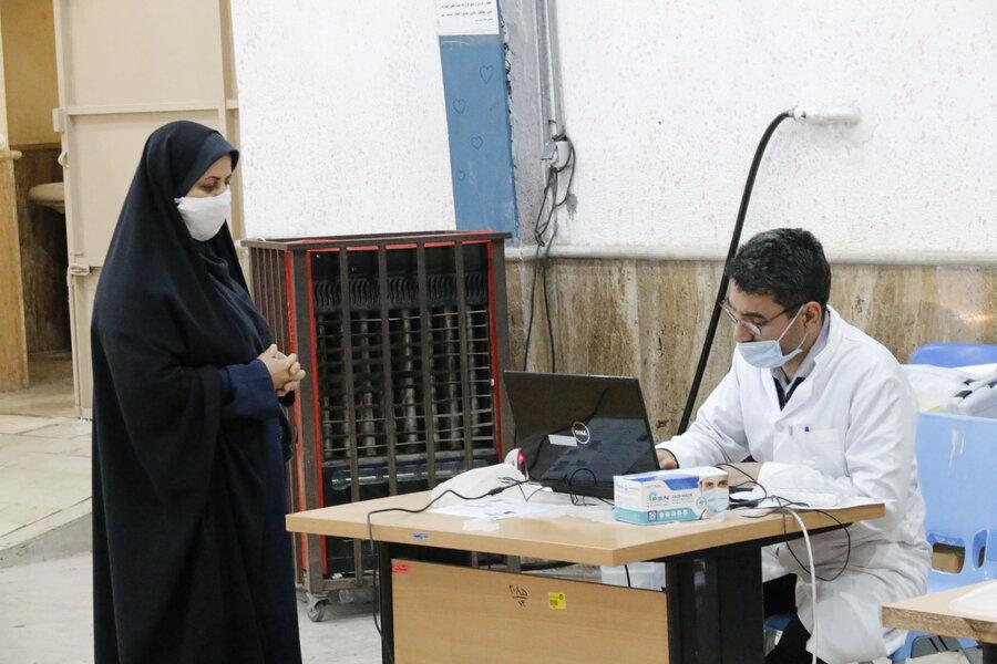 اهداء خون کارکنان اداره کل بهزیستی گلستان در پویش سلامت آفاق در سلامت توست