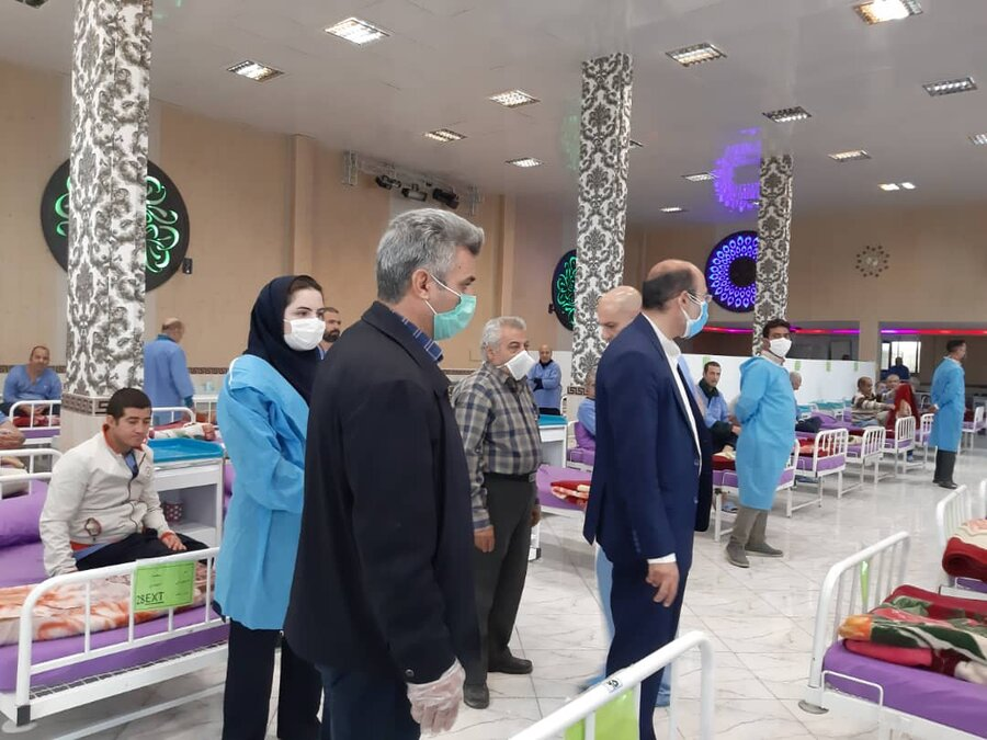 فردیس | بازدید از مرکز نگهداری مهر البرز