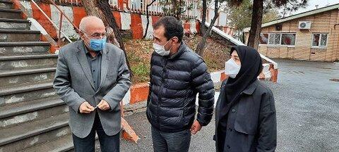 گزارش تصویری| بازدید مدیرکل بهزیستی از مرکز نگهداری فیاض بخش تبریز