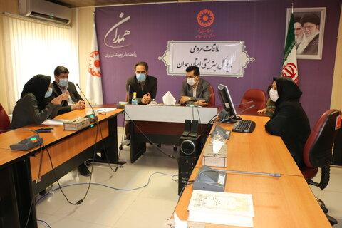 گزارش تصویری |ملاقات مردمی مدیر کل بهزیستی استان