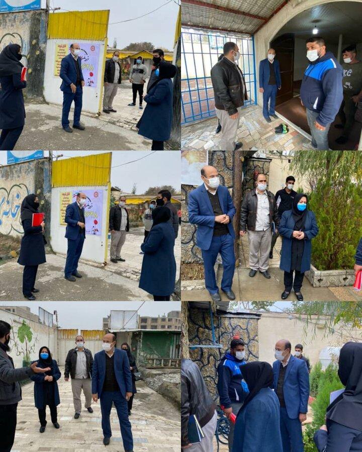 فردیس   بازدید رئیس بهزیستی فردیس از فرایند آماده سازی مراکز اقامتی ماده ۱۶