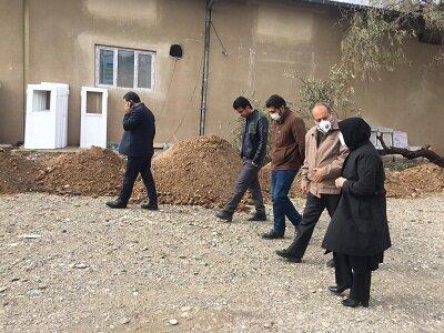 گزارش تصویری| بازدید مدیرکل بهزیستی آذربایجان شرقی از پروژه کمپ بانوان ماده ۱۶ تبریز