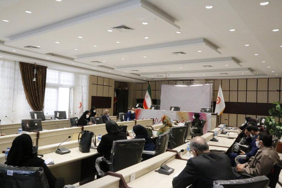 نشست مشورتی مدیرکل بهزیستی گلستان با مدیران مراکز شبه خانواده استان