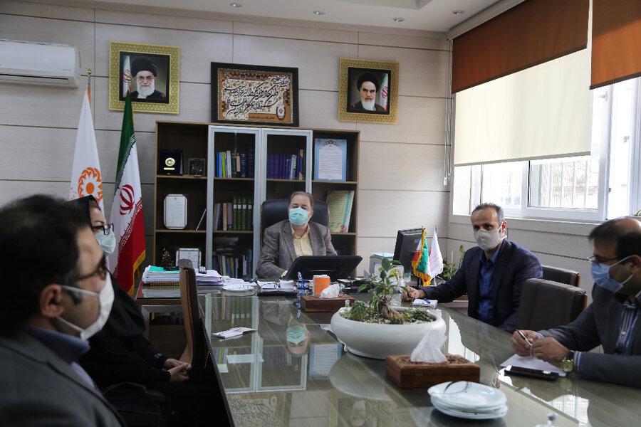 نشست صمیمی مدیر کل بهزیستی مازندران با انجمن ها و سمن های معلولین استان