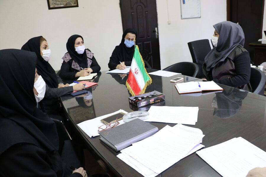 دومین جلسه پیگیری تدوین طرح نظام ارجاع بین سازمانی در حوزه کنترل و کاهش آسیب های اجتماعی در مناطق حاشیه نشین