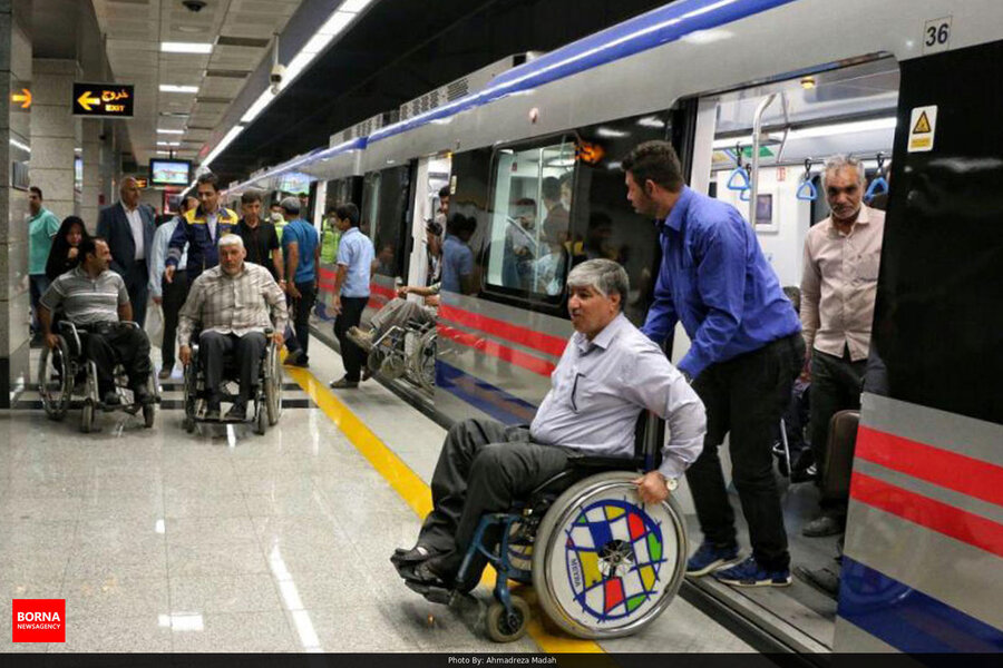 Proper services for people with disability in passenger trains