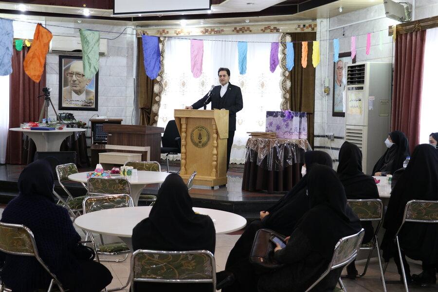 مراسم تقدیر از فرزندان موفق تحت حمایت در خانه های  دخترانه شایگان و پسرانه مژدهی در سال تحصیلی جدید