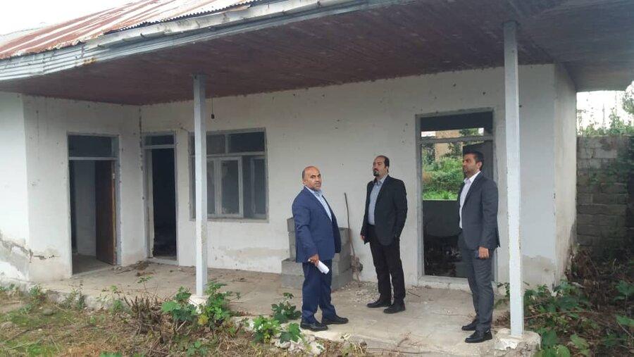 بازدید از املاک مازاد جهت فروش ومولدسازی واقع در شهرستانهای لاهیجان ، لنگرود و رودسر