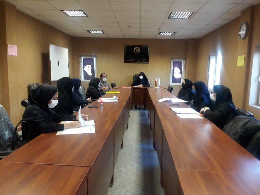شهرقدس|برگزاری سومین جلسه شورای اداری بهزیستی