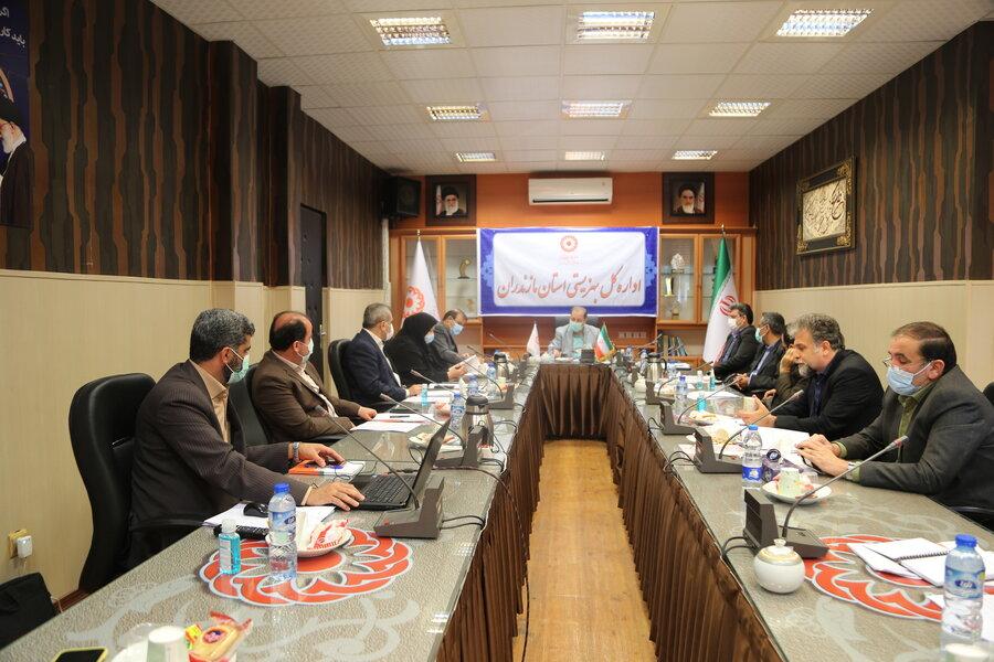 جلسه شورای معاونین بهزیستی استان برگزار شد