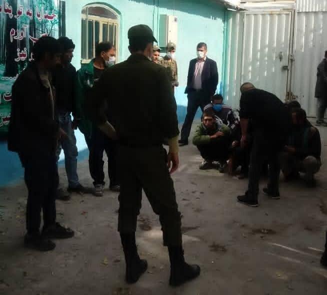 اسلامشهر|جمع آوری معتادان متجاهر